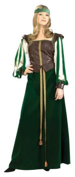 Women's Maid Marion Costume - Adult L (14 - 16)