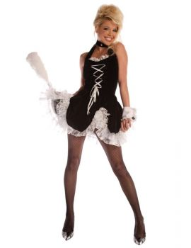 Women's Maid To Tease Costume - Adult Large