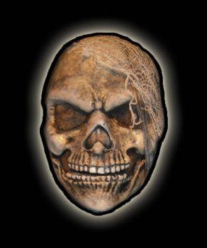 Makeup Prosthetic - Skully