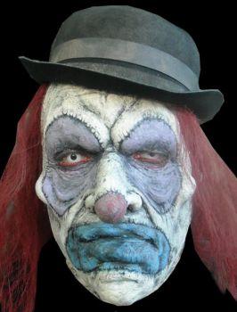 Makeup Prosthetic - Strangles the Clown
