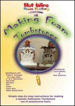 Making Foam Tombstones DVD