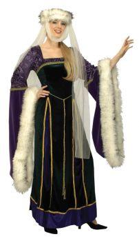 Medieval Lady - Adult XL (18 - 20)