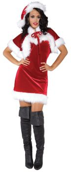 Women's Merry Holiday Costume - Adult Large