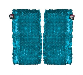 Mh Arm Warmer Blue Sequin Chld