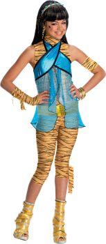 Girl's Child Cleo De Nile Costume - Monster High - Child Large