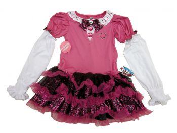 Mh Dress Pink Child 6+