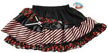 Mh Pettiskirt Black & Red