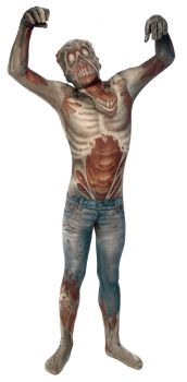 Child's Zombie Morphsuit - Child Small