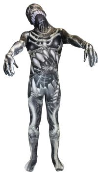 Child's Skull & Bones Morphsuit - Child Small