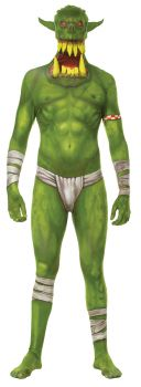 Child's Orc Jaw Dropper Morphsuit - Child Medium
