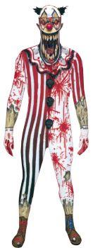 Men's Jaw Dropper Clown Morphsuit - Adult Medium
