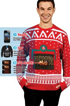 Adult Ugly Christmas Sweater - Adult Large