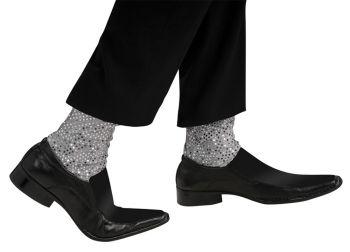 Michael Jackson Sparkle Socks