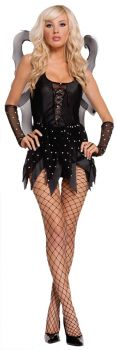 Women's Midnight Nymph Costume - Adult S (2 - 6)