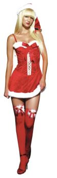 Missy Claus Holiday Dress Sm
