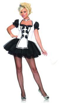 Women's Mistress Maid Costume - Adult X-Small