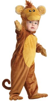 Monkey Costume - Toddler Large (2 - 4T)