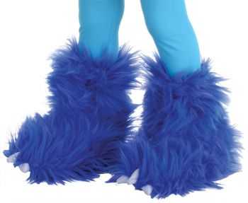 Monster Boots Electric Blue