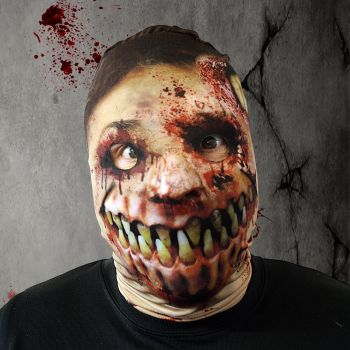 Faceskinz Monster Mouth Slip Over Mask