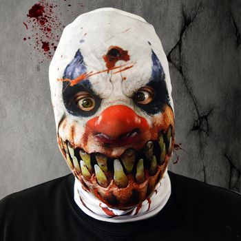 Faceskinz Monster Smile Clown Slip Over Mask