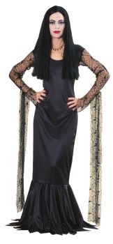 Women's Morticia Addams Costume - The Addams Family - Adult Large