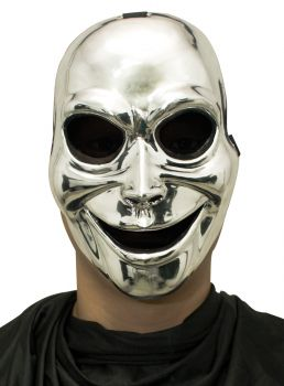 Sinister Ghost Mask - Silver