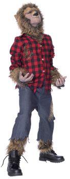 Wolfman Costume - Child Large