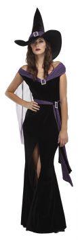 Women's Elegant Witch Costume - Adult Large