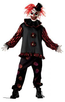 Carver The Killer Clown Costume - Adult Medium