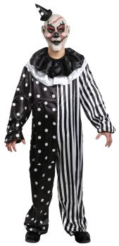 Boy's Kill Joy Clown Costume - Child Large