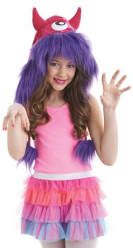 Monster Hood Kit - Pink/Purple