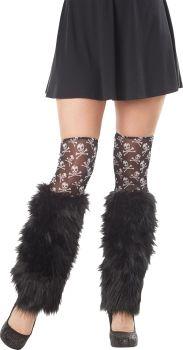 Striped Leg Furries Kit - Black/White