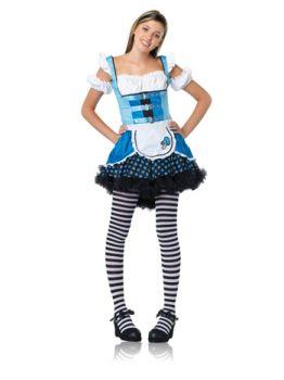 Teen Mushroom Alice Costume - Teen M/L