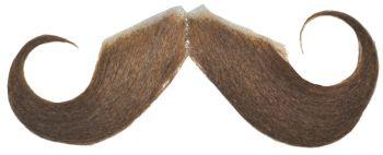 Mustache 20s Style Lt Brown