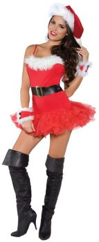 Women's Naughty Holiday Costume - Adult Large