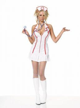 Nurse Head Zip Dress Med Lg
