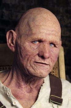 elderly man mask