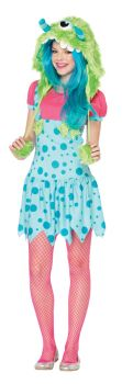 Teen One-Eyed-Erin Monster Costume - Teen M/L