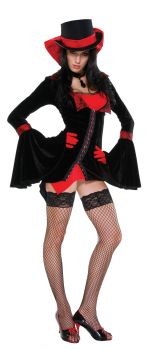 Women's Vampire Vixen Costume - Adult M/L (6 - 9)