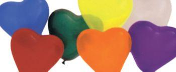 "6"" Balloon Heart - Multicolor"
