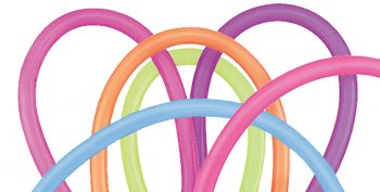 Balloon 260Q Assorted - Pack Of 100 - Neon
