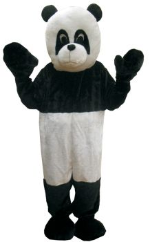 Panda Mascot Adult One Size