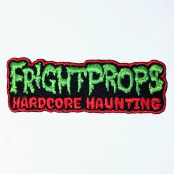 Hard Core Haunting Embroidered Patch