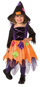 Patchwork Witch Toddler 2-4t