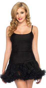 Black Petticoat Dress - Adult S/M