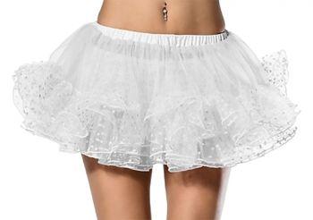 Petticoat Polkadot White