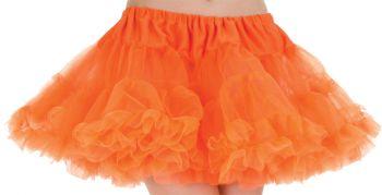 Petticoat Tutu Adlt Neon Orang