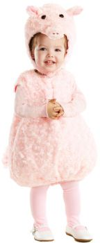 Piglet Costume - Toddler Large (2 - 4T)