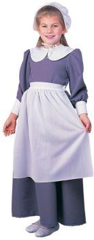 Girl's Pilgrim Costume - Child Large