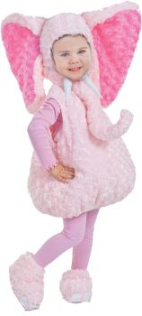 Pink Elephant Costume - Toddler (18 - 24M)